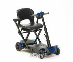 Conduire Devilbiss Pliant Auto Mobility Scooter Avec Télécommande 4 Wheel 4 Mph
