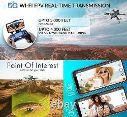 Contixo F35 Gps Drone 4k Uhd Caméra 5g Wifi Fpv Drone Brushless