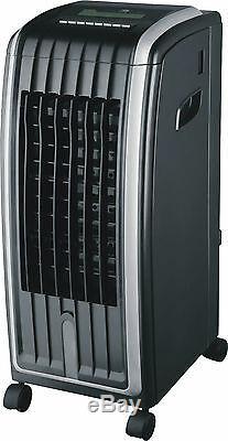 Daewoo Noir Unité De Chauffage, Purificateur D'air Et Ventilateur De Climatisation, 6,5 Litres, 4 En 1
