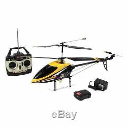 Dh9101 3.5ch Grand 29inch Extérieur Rc Métal Hélicoptère + Gyroscopique 2 Contrôle De La Vitesse
