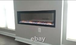 Dimplex Incendie Électrique Feu XL 50 Largeur Télécommande & Tactile Changement De Couleur De L'écran