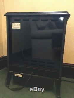 Dimplex Oakhurst Opti-myst 2kw Poêle Électrique Noir. 15m Ancienne Très Bon État