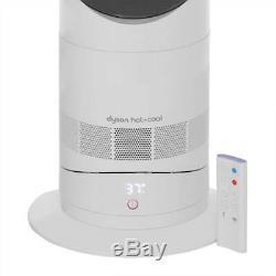 Dyson Am09 Hot & Cool Ventilateur De Chauffage 2000 Watt Garantie Blanc / Nickel 2 Année Nouveau