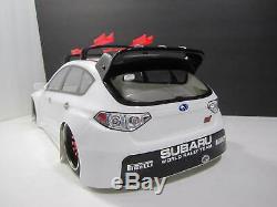 Échelle 1/10 Télécommande Drift Voiture Rc Impreza Subaru Trappe Arrière Blanc