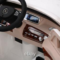 Electric Kids Ride On Car Rc Télécommande Mercedes-benz Sous Licence S600 12v