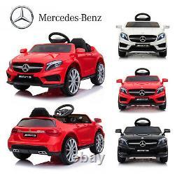 Electric Ride On Car 12v Kids Licensed Mercedes Benz Remote Control Motors Toys