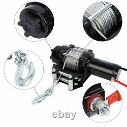Électric Winch 12v 4000lb Recouvrement - Off Road Wireless