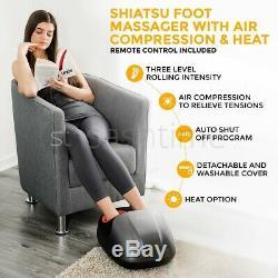 Électrique Shiatsu Massager Pétrissage Roulement Des Tissus Profonds Massage Apaisant LCD