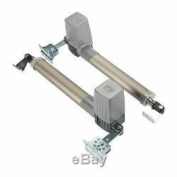 Électrique Swing Ouvre-barrière De L'opérateur Double Bras Télécommande Porte Porte Kit Royaume-uni