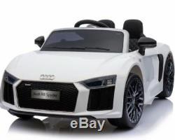 Enfants Électrique Ride On Audi R8 Spyder Licensed 12v Enfants Voiture / Jeep Télécommande