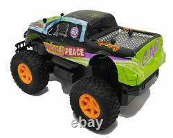 Enfants Hulk Monster Truck Télécommande Big Wheel High Speed Toy