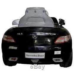 Enfants Ride On Car Mercedes Benz Sls Amg 6v Batterie Électrique Télécommande Nouveau