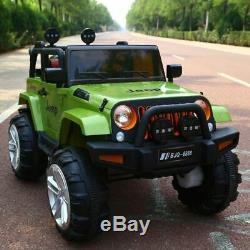 Enfants Tour Sur La Voiture Électrique De La Télécommande De Voiture Jeep Extream 2 Seater Mp3 Jouet