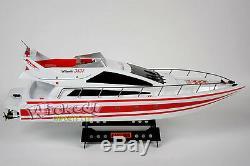Énorme Rc Heng Long Radio Télécommande Double Moteur Atlantic Yacht Speed sail Boat