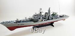 Énorme Télécommande R / C Naval Destroyer Nucléaire Modèle Toy Battleship Bateau Guerre