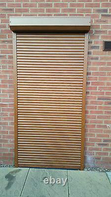 Fenêtre Électrique Télécommandée, Obturateur De Rouleau De Porte, Sur Mesure, 52 MM