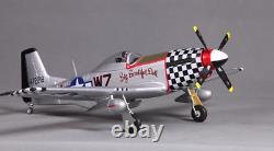 Fms 800mm Warbird P51 Avion Rc Avion À Télécommande Pnp Modèle Adultes
