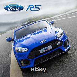 Ford Focus Rs Sous Licence 12v Enfants Monter Sur La Voiture Électrique À Télécommande 2.4g De Batterie