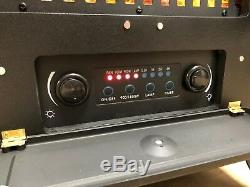 Galleon Fires- Agena Cuisinière Électrique Avec Télécommande -electric Noir Feu