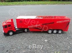 Géant Européen Grand Camion Poids Lourd 49cml Radio Télécommande Volant De Voiture