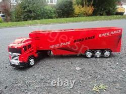 Grand Camion Européen Massif Lorry 49cml Radio Télécommande Voiture Volante