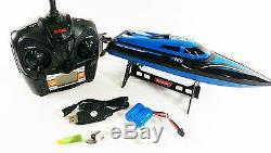 H100 2.4g Eau De Refroidissement À Haute Vitesse Rc Racing Télécommande Radio Speed boat Toy