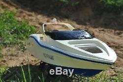 Haute Vitesse Radio Télécommande Universelle Century Racing Speed boat Blanc