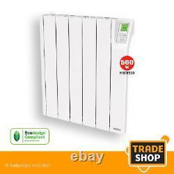Heatstore Intelirad Hsdi500 Radiateur Électrique Rempli D'huile 500w Avec Bluetooth
