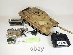 Heng Long Radio Remote Control Rc Tank Challenger 2 Version 6 Infrarouge 2.4 Bb