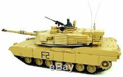 Heng Long Radio Réservoir De Contrôle À Distance Abrams M1a2 116 Échelle 2.4g Système Désert