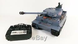 Heng Long Radio / Télécommande Télécommande Tiger Tank Echelle 1 / 16eme Super Detail Pas Cher