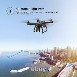 Holy Stone Hs700 Fpv Gps Rc Drone Avec 1080p Hd Caméra Wifi Quadcopter Brushless