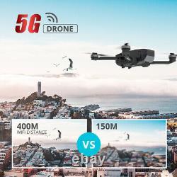 Holy Stone Hs720 Drone Fpv Pliable Avec 2k Hd Camera Gps Brushless Quad Cas
