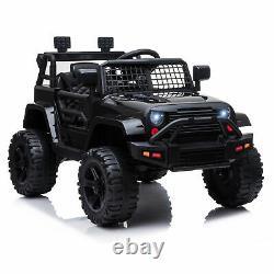 Homcom 12v Kids Electric Ride On Car Truck Jouet Tout-terrain Avec Télécommande