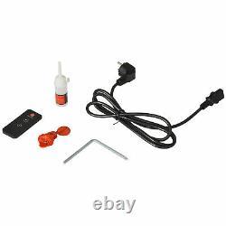 Homcom 500w Electric Motorised Walking Treadmill Fitness Machine Télécommande