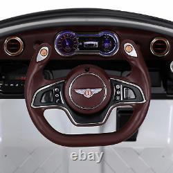 Homcom Bentley Licensed 12v Kids Children Electric Ride-on Car Remote Control