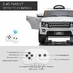Homcom Landrover Discovery 12v Kids Electric Ride On Car Toy Avec Télécommande