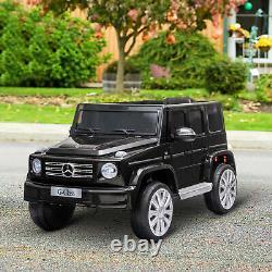 Homcom Mercedes Benz G500 12v Enfants Électric Ride Sur Voiture Jouet Avec Télécommande
