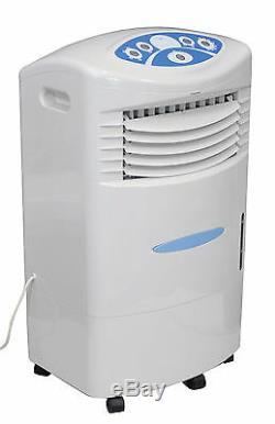 Honeywell Télécommande Refroidisseur D'air Évaporatif Con Ventilateur Avec 20l D'eau Glacée Réservoir