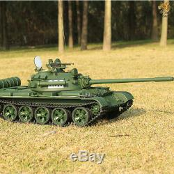 Hooben 1/16 Rc Tank 2.4g Chars Lourds Russes T55a Kit Panzer Télécommandé