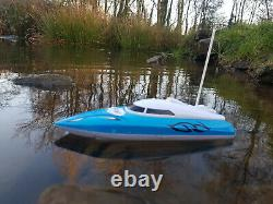 Hq Radio Télécommande Speed Boat Rc Boat Speed 12km/h (new Boxed)