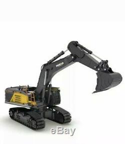 Huina Rc Pelle 2.4ghz 1592 Télécommande Toy Métal Bucket Construction Vehi