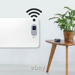 Igenix Ig9515wifi Smart Electric Panel Heater 1.5kw Amazon Alexa, Murale