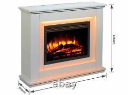 Incendies Castleton Electric Fireplace Dans Une Suite D'incendie Off Mdf With Remote Control