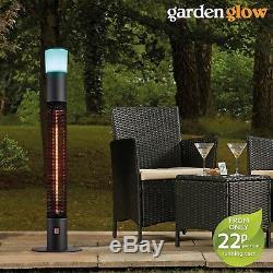 Jardin Glow 1.5kw Chauffage Électrique Chauffage Électrique Bbq Party Feu Extérieur Led