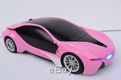 Jeffree Pink Bmw I8 Radio Voiture Télécommandée Filles Rc Car 1/16