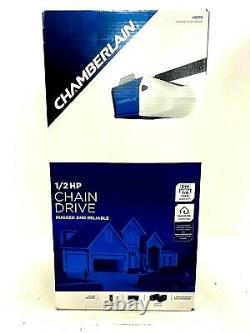 Kit D'ouverture De Porte De Garage Chamberlain 1/2 HP Chain Drive Avec Rail 7 Pieds Porte Hd210