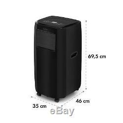 Klarstein Climatiseur Portable 3-en-1 9000 Btu / 2,6 Kw Noir