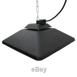 Led Chauffage Électrique Outsunny Halogène De Chauffage À Distance Hanging Lumière Extérieure