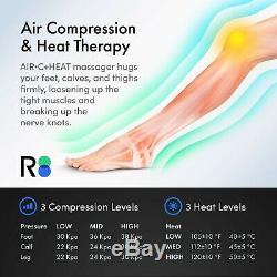 Leg Massager, Compression D'air Pour La Circulation Pieds De Veau Cuisse USA Reathlete